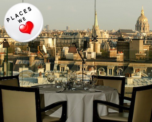 paris dine with a view at maison blanche honest cooking. Black Bedroom Furniture Sets. Home Design Ideas