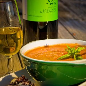 Gazpacho and Manzanilla