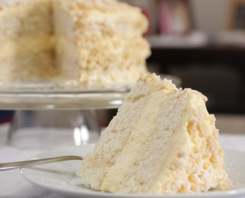 Lemon Birthday Cake Recipe