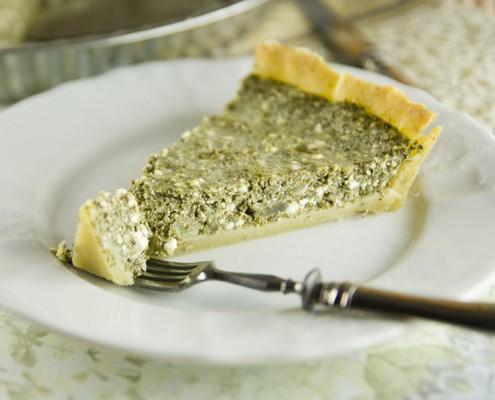 spinach ricotta tart