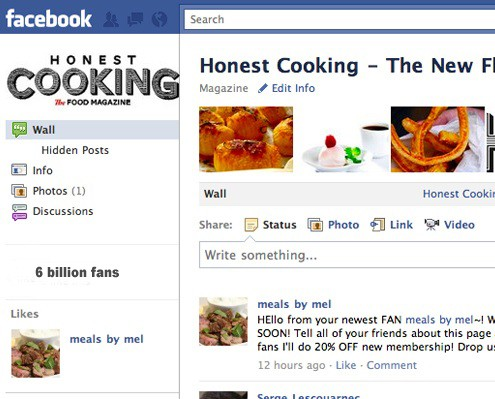 Honest Cooking On Facebook
