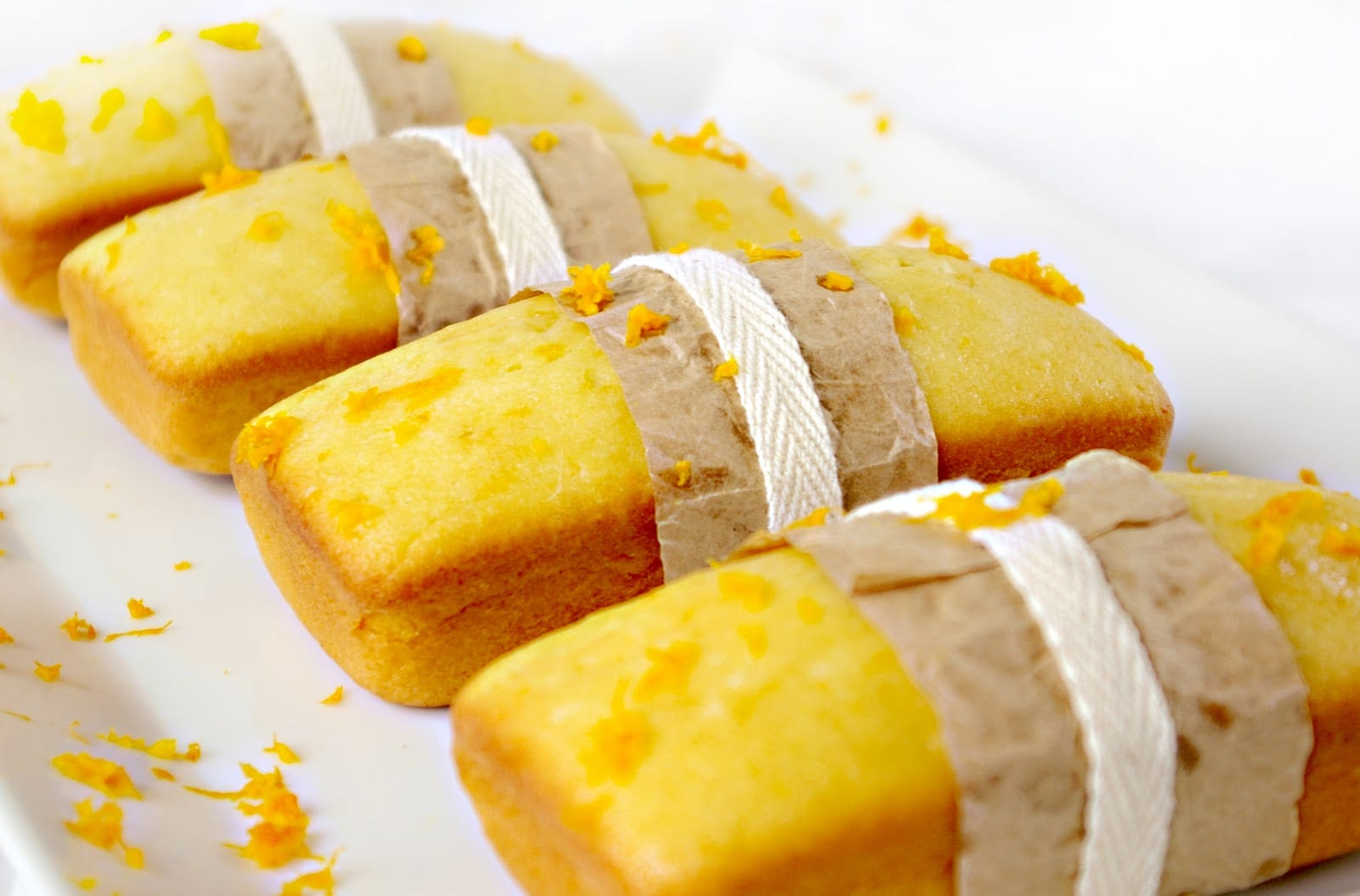Recipe orange pound cake