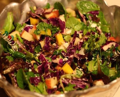 Rainbow Salad Honest Cooking
