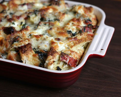cheese strata spinach and cheese strata adapted from gourmet february ...