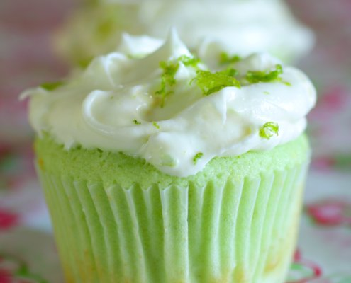Key Lime Cupcakes – Honest Cooking