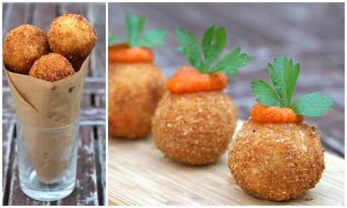 Arancini Di Riso – Crispy Fried Risotto Balls – Honest Cooking