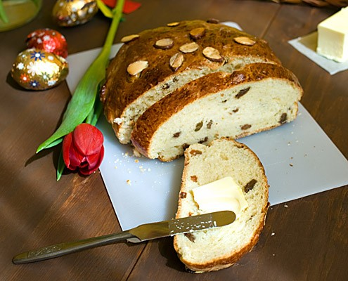 Mazanec Czech Easter Bread