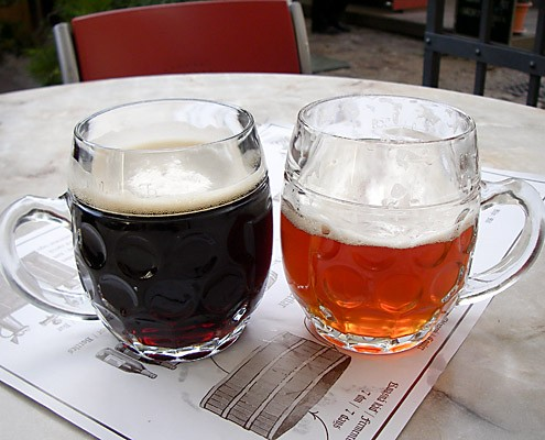 Czech Beers At The Strahov Monastery Brewery in Prague