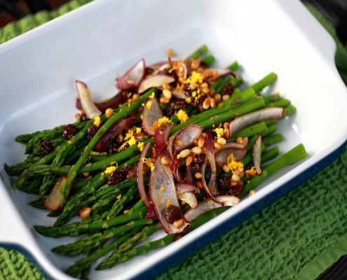 Pine Nut Asparagus