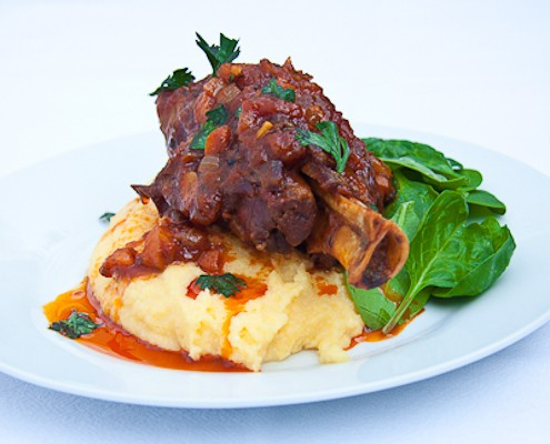 fall apart lamb shanks braised with mustard and mint lamb shanks with ...