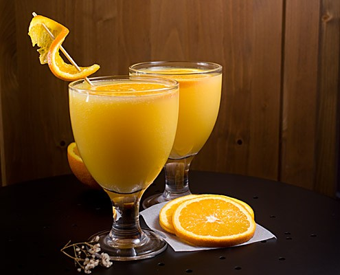 Non-Alcoholic Orange Spritzer