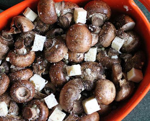 Garlic and Butter Roasted Mushrooms - Delicious Mushroom Recipe