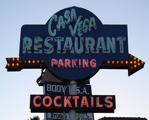 Casa Vega Restaurant, Sherman Oaks, California