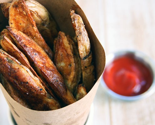 Crispy Oven Bake Fries