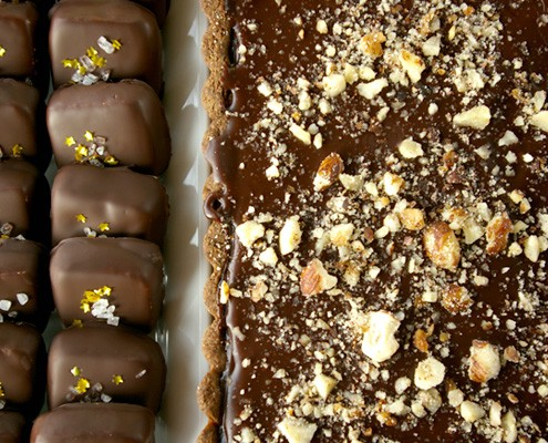 Chocolate, Banana And Caramel Tart – Honest Cooking