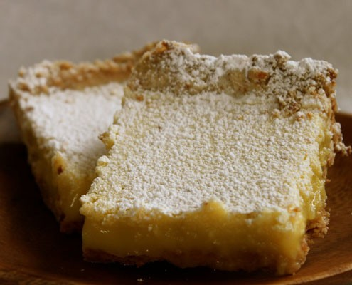 Kick Of Lemon: Coconut Shortbread Lemongrass Bars – Honest Cooking