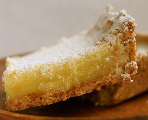Kick Of Lemon: Coconut Shortbread Lemongrass Bars - Honest Cooking
