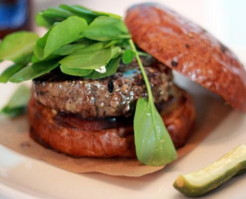 Blanc's American Kobe Burger