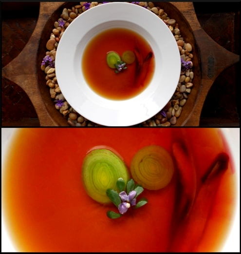 A Classic French Starter Consommé