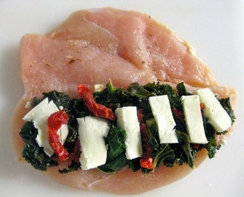 stuffed chicken breasts italiano