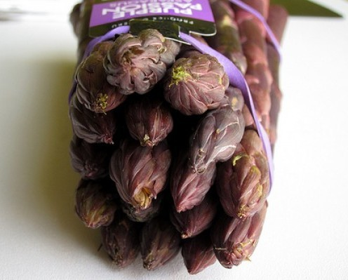 purple asparagus from Peru - 5