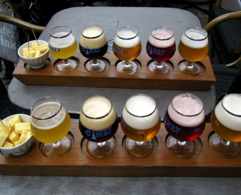 Belgium Beer Tasting - ShesCookin.com