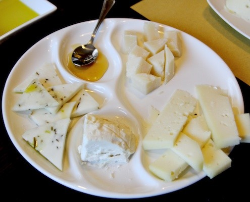 Cheeses at Enoteca Wine Club