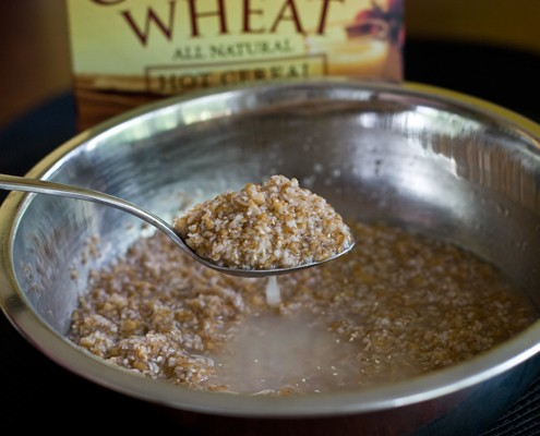 Cracked Wheat Soaking