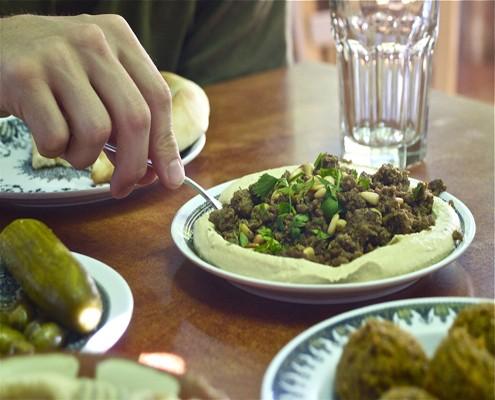 Abu Ghosh hummus