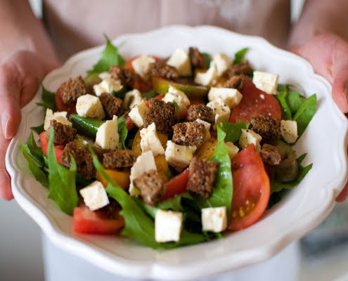 Dandelion Salad HC