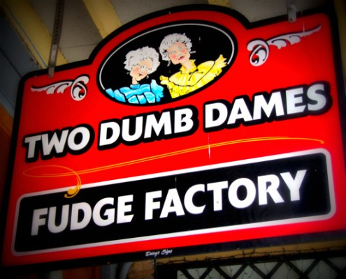 Two Dumb Dames in Eurkea Springs, AR