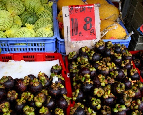mangosteen_at the market