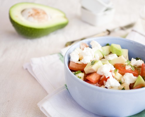 summer avocado salad