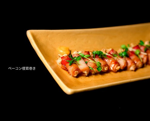 Bacon wrapped enoki perfect finger food honest cooking bacon wrapped enoki perfect finger food forumfinder Choice Image
