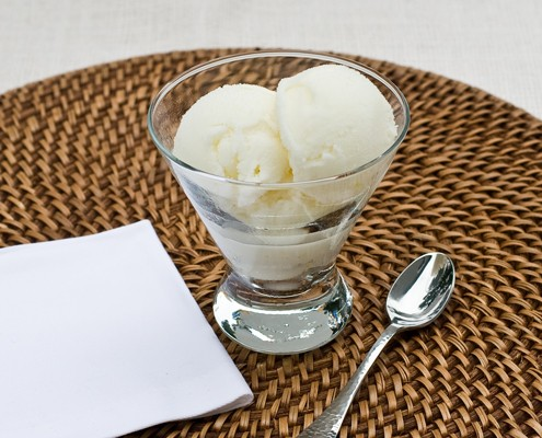 Lemon Buttermilk Ice Cream