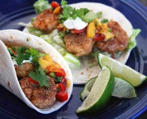 Alfa img - Showing > Fried Shrimp Tacos