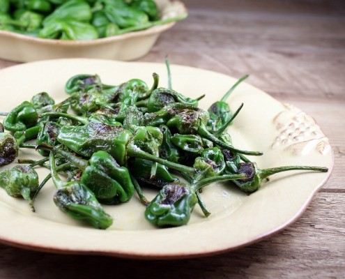 Simply Prepared Padron Peppers
