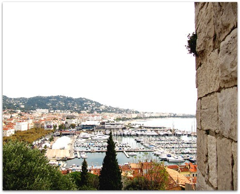 View of Bay of Cannes - ShesCookin.com