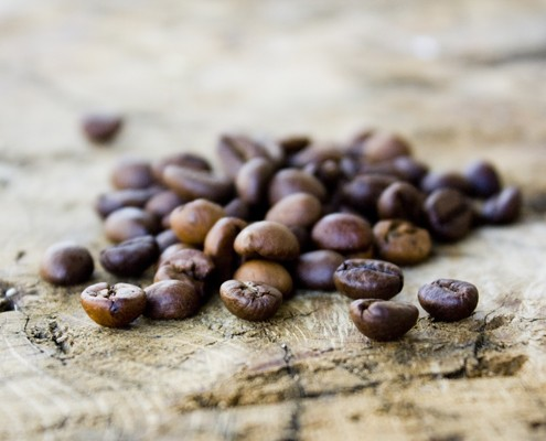 fresh coffee beans