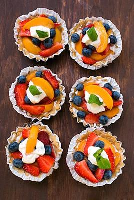 Summer Fruit Tarts
