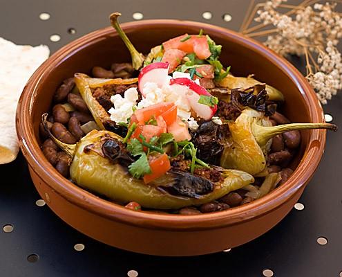 Mexican Chorizo Stuffed Chiles