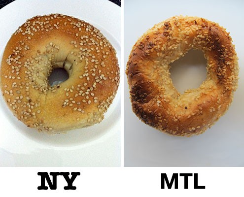 new york versus montreal bagels