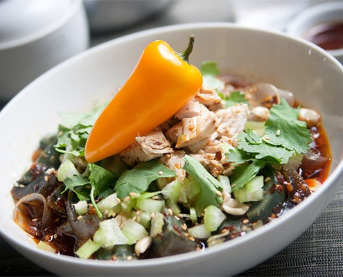Mouth-watering Sichuan Spicy Chicken