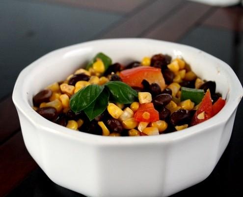 Sweet Corn Salad - Honest Cooking
