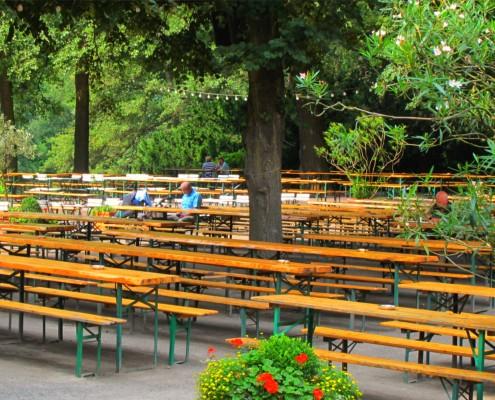 Biergarten Cafe am neuen see