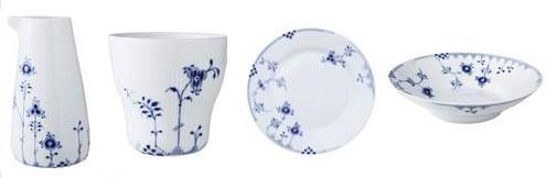 royal copenhagen launches blue elements porcelain honest cooking. Black Bedroom Furniture Sets. Home Design Ideas