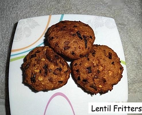 Lentil Fritters