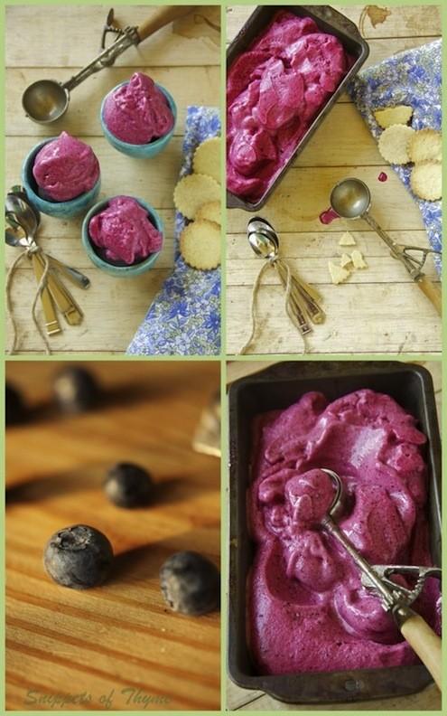 Mixed Berry Sorbet and Vanilla Shortbread Cookies - Honest ...