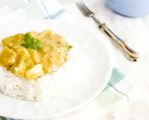 Thai Green Curry Rice
