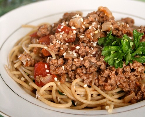 asian sauce for pasta